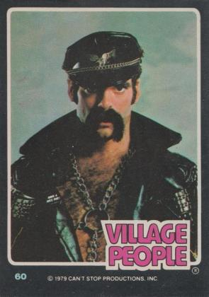 Village People trading card