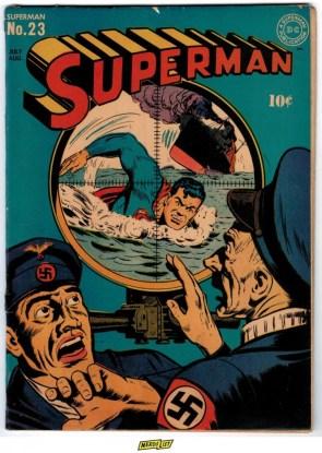 Superman vs U-Boat
