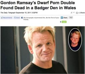 Not your average celebrity news