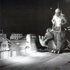 Godzilla behind the scenes