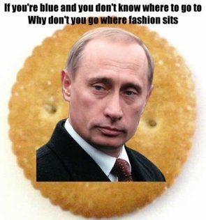 Putin endorses this cracker