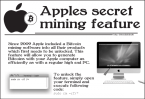 Apple Bitcoin Miner!