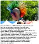 Girl with the spiked hair
