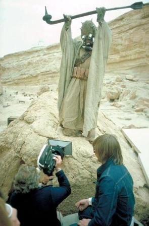 Filming the Sandpeople