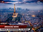 France surrenders to Russia