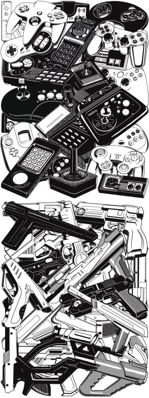 retro gaming controllers