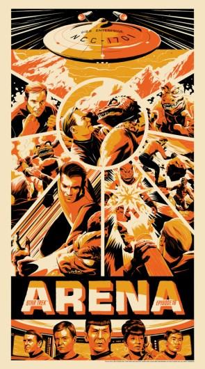 Mondo's Star Trek posters