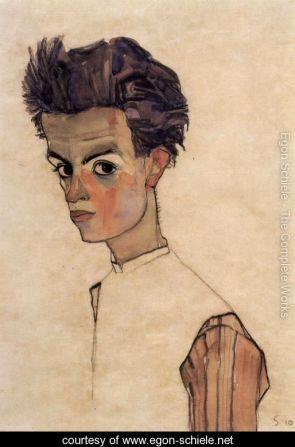 Expressionist portraits.