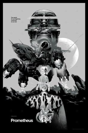 Mondo's Prometheus and Alien posters