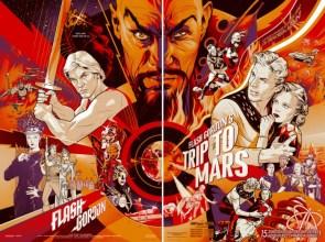 Mondo's Flash Gordon poster