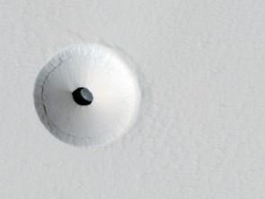 Hole on Mars