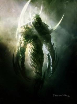 Shrike god