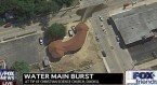 Burst main