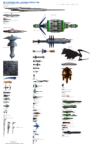 Some space ship / station sizes