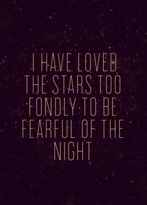 Too fondly to be fearful