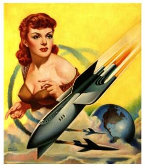 Vintage Science Fiction Illustrations