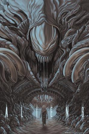 Mondo's  Aliens poster