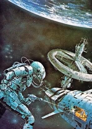 Vintage Science Fiction Illustration