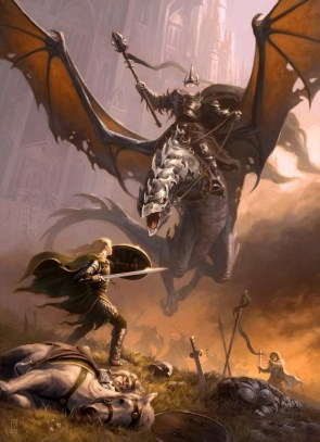 Eowyn Fighting Nazgul