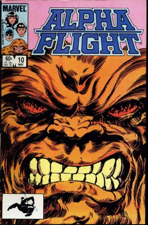 Alpha Flight Sasquatch.