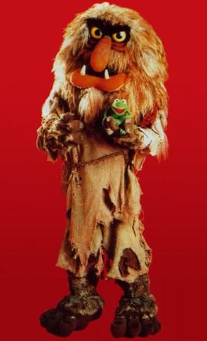 Muppet Sasquatch.