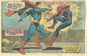 Superman and Spidey