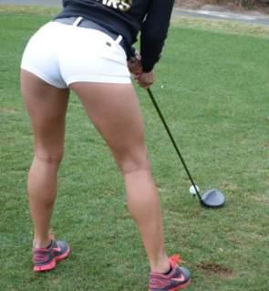 Hot Girls on Golf