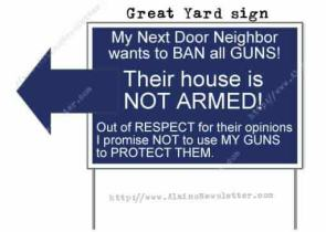 Great Yard Sign