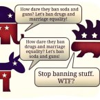 Libertarian: Stop Banning Things!