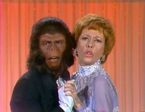 Roddy Mcdowall and Carol Burnett