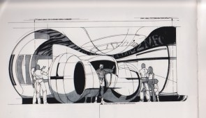 Syd Mead Designs and Illustrations