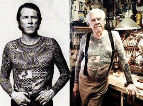 forty years without changing his shirt