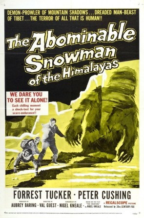 The Abominable Snowman (Of The Himalayas)