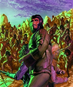 Planet of the Apes inspired art