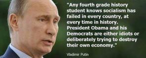 Putin on Obama