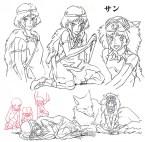Princess Mononoke concept art