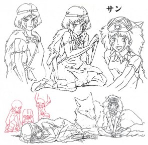 Princess Mononoke concept art