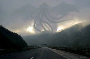 cthulhu in the mist