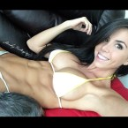 Ainsley Rodriguez has nice abs