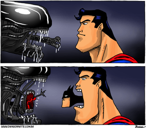 Superman vs Alien