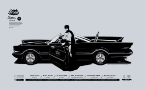 Mondo's 75 Years of Batman poster series