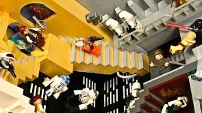 Escher, Lego, Star Wars mashup