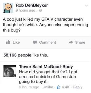 GTA bug