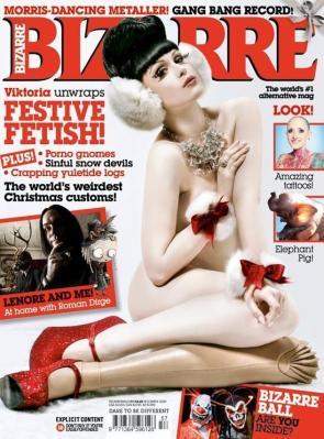 Viktoria Modesta Christmas Cover