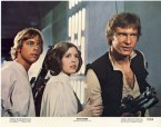 Vintage Star Wars Lobby Card
