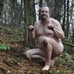 Naked Dude in the Woods