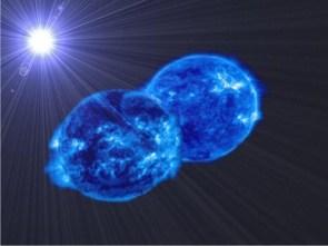 Big blue balls