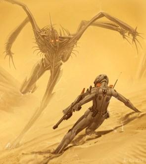 Shrike attack