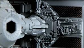 Star Wars models close up