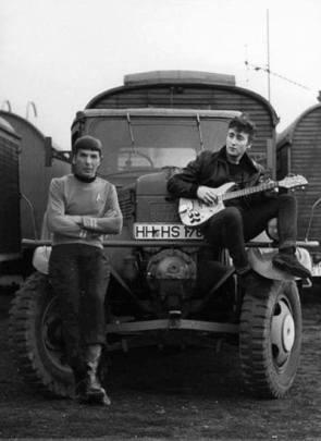Spock and Lennon